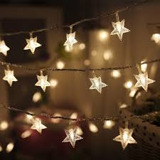 Outdoor Lighting Christmas Stars Twinkle Star 100 Led 49 Ft Star String Lights Plug In Fairy String Lights Waterproof Extendable For Indoor Outdoor Christmas Tree Sales On