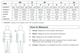 Surprising Youth Jean Size Chart Urban Pipeline Size Chart