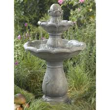 hayneedle fountains cascading water fountains lawn fountains whole