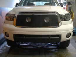 My Grillcraft MX black mesh and grill lights - Toyota Tundra ...