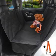 pet seat cover dog car backseat cover100 waterproof luxury back seat cover hammock for cars trucks and suvs travel black dog car pet cover dog mat for trip