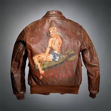 world war ii s painted jackets show an artistic during battle