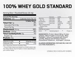 below nutritional info is based on double rich choc flavour