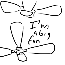 ceiling fan clipart png. ceiling fan drawing: big drawing clipart png