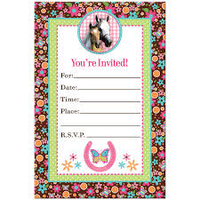 Online Birthday Invitations Templates Classy Horse Birthday Invitations Horse Birthday Invitations For Creating