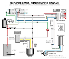 how to wire chevy alternator diagram wirdig alternator wiring identify install electrical ratsun forums