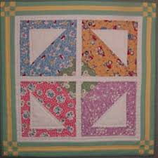 Free Basket Baby & Doll Quilt Pattern Instructions & layout of doll basket quilt Adamdwight.com
