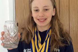 News, 16 Gold Medals for Tibberton Golden Girl Harriet Smith, Published on  05 March 2018 by Jackie Thorley, Newport Shropshire