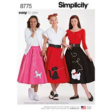 50s Style Dress Patterns Best Decorating Design