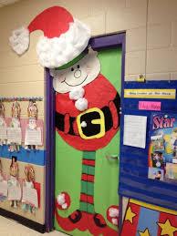 christmas door decorating ideas pinterest. Santa Elf Door From Annette Bierley Via Pinterest Christmas Decorating Ideas S