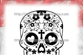 Free svg files for sizzix, sure cuts a lot and other compatible die cutting machines and software.no purchased needed. Sugar Skull Cutting File In Jpg Png Svg Eps Dxf For Cricut Silhouette Day Of The Death Dia De Los Muertos Dia De Finadosand Mexico Download Free Svg Files
