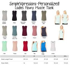 Bella Canvas Muscle Tank Size Chart Let Freedom Ring 4th Of July Patriotic Ladies Muscle Tank Tank Top Sold By Simplexpressions Personalized