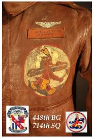 2 2 present on the front of silvestry s jacket is a leather name tag below his name are the words armorer ner above it are hand painted wings and