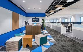 office design company. Company : Symantec Location Singapore Size 50,000 SF Office Design
