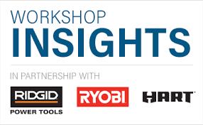 ridgid logo. build the future of power tools here! ridgid logo