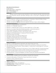 Sample Resume For 2 Years Experience In Software Testing
