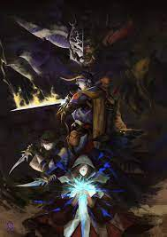 Final Fantasy 1 art by me : FinalFantasy