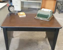 vintage metal office furniture. Vintage Metal Office Desk. Small Secretary Assistants All Desk C Furniture