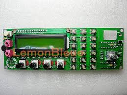 55mhz dds vfo signal generator based on ad9850 ham radio frequency