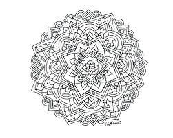 Hard Mandala Coloring Pages O3885 Mandala Coloring Page Hard