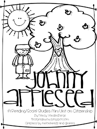 Small Picture Printable Johnny Appleseed Coloring Pages Coloring Pages Ideas