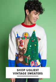 The Ugliest Christmas Sweaters Ugly For Men \u0026 Women - From $15 | Ragstock.com