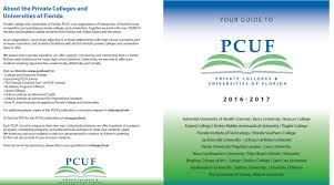 Pcuf Chart Private Colleges And Universities Of Florida
