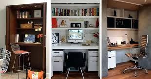 closet computer desk small apartment design ideas create a home office in a closet diy closet closet computer desk