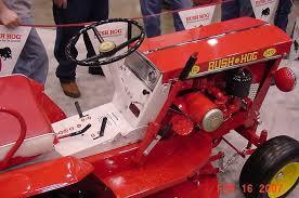michael s tractors simplicity and allis chalmers garden tractors bush hog pany s d4 10 restoration