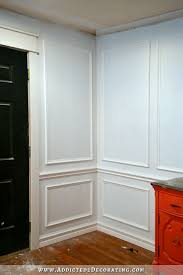 picture frame molding diy how to install picture frame moulding the easiest wainscoting