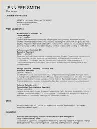 Administrative Assistant Resume Template Microsoft Word New New