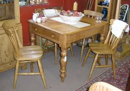 Stripping Dining Room Table Victorian Pine Farmhouse Table With Drawer In One End Stripped And