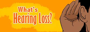 Hearing Impairment Whats Hearing Loss