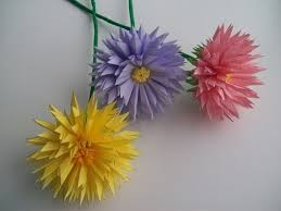 Flower Made In Paper Flowers Made Of Paper Master Class Good House Wife