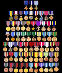 Army Awards And Medals Chart U S Military Medals Chart Military Decorations