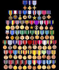 u s military medals chart