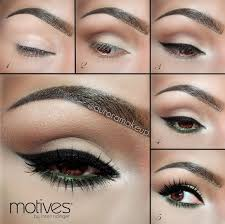 cute ways to do your makeup for brown eyes image