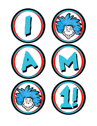 Dr Seuss Coloring Pages Thing 1 And Thing 2 | Clipart library ...