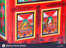 red lacquered furniture.  furniture nepalesetibetan buddhist style furniture red lacquered wooden ark showing  images of the buddha and red lacquered furniture