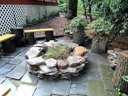 rock fire pit construction stone interesting gas patio pits outdoor ideas images stone fire pit instructions