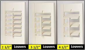 louver sizes shutters blinds window blinds plantation shutters vertical blinds