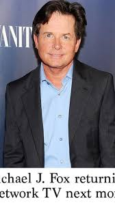 Michael J Fox Designated Survivor Parkinson S Michael J Fox Returning To Network Tv Next Month
