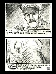 shooting an elephant storyboard by snipetracker on  shooting an elephant storyboard 3 by snipetracker