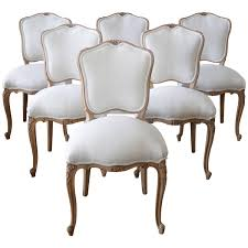 Dining Room French Style Chairs Shabby Chic Dining Chairs French