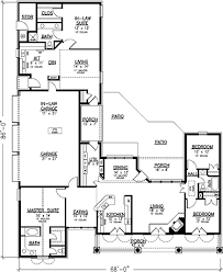 inlaw suite country style house plans