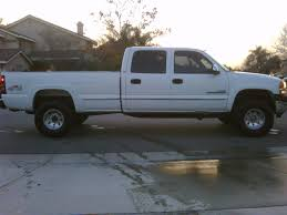 2002 GMC 2500hd, Duramax, Crew Cab, 4wd, Long Bed, LOW MILES ...