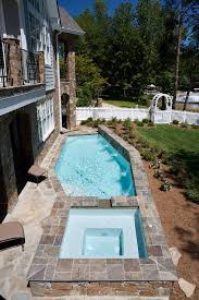 63 best swimming pools images on small pool hot tub combo