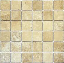 honed ivory travertine travertine tile size 2 x2 traditional wall and floor tile by tiay