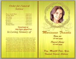 Free Funeral Program Template For Mac Ustamco 164337855066 Free