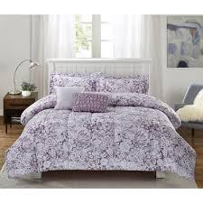 bloom amanda 5 piece purple full queen